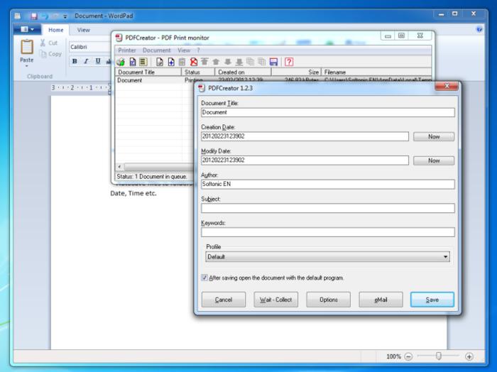 Free Download Software PDF Creator 2014