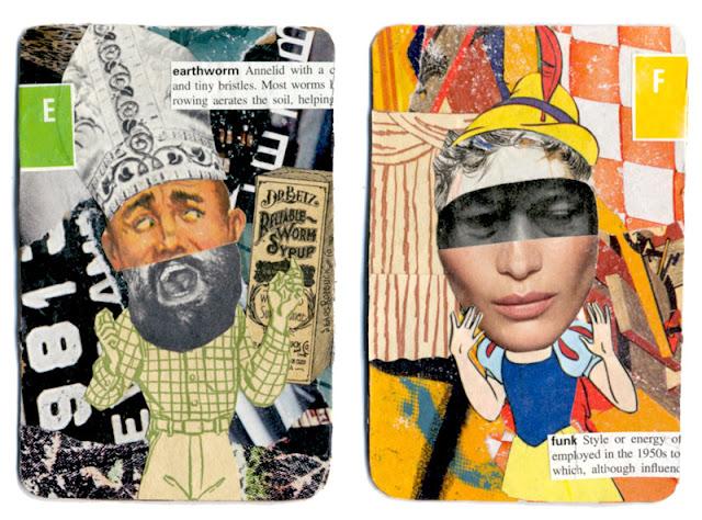 Collaged ATC by C Mazzie-Ballheim