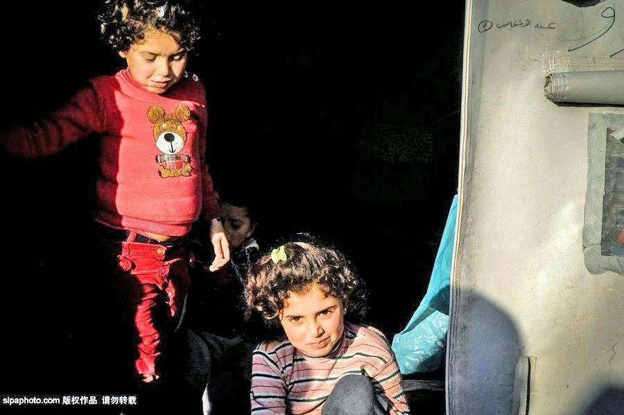 Gerrys Blog صور تسجل حياة شاقة للاجئين السوريين خاص
