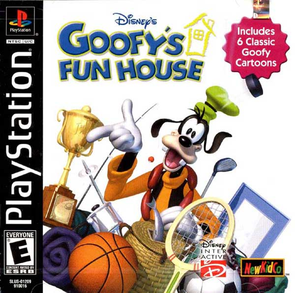 Disneys Goofys Fun House - PS1 - ISOs Download