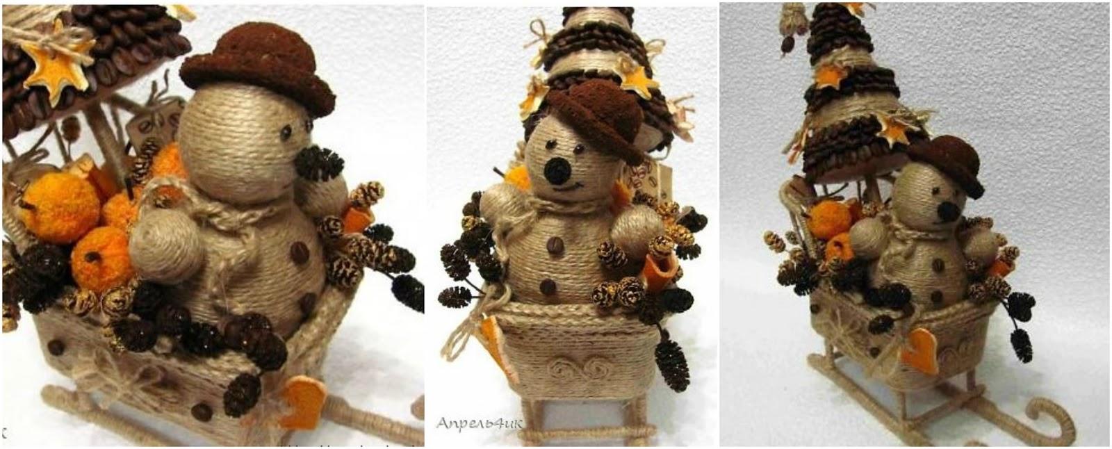 Aprende cómo hacer un muñeco de nieve en trineo paso a paso ...