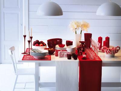 Contoh Dekorasi Meja Makan Yang Simpel Untuk Perayaan Natal