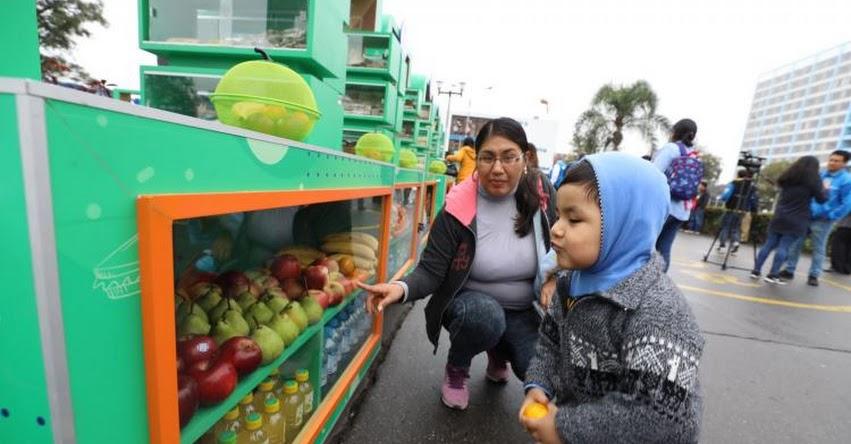 MINEDU y MINSA suman esfuerzos para concretar implementación de quioscos saludables