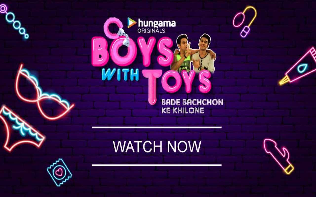 Boys With Toys 2019 Hindi Complete WEB Series 720p HEVC