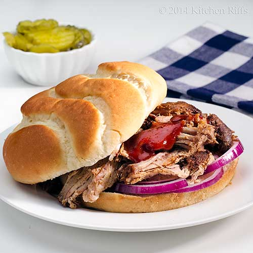 Oven Slow-Cooked BBQ Pulled Pork