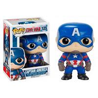 Boneco POP Funko Capitão América (Captain America) - 125