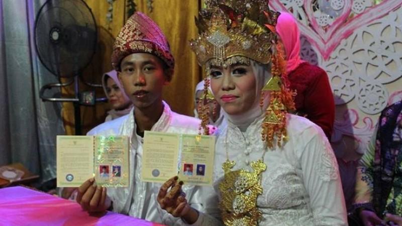 Pernikahan dini siswa SMP di Baturaja, Sumsel