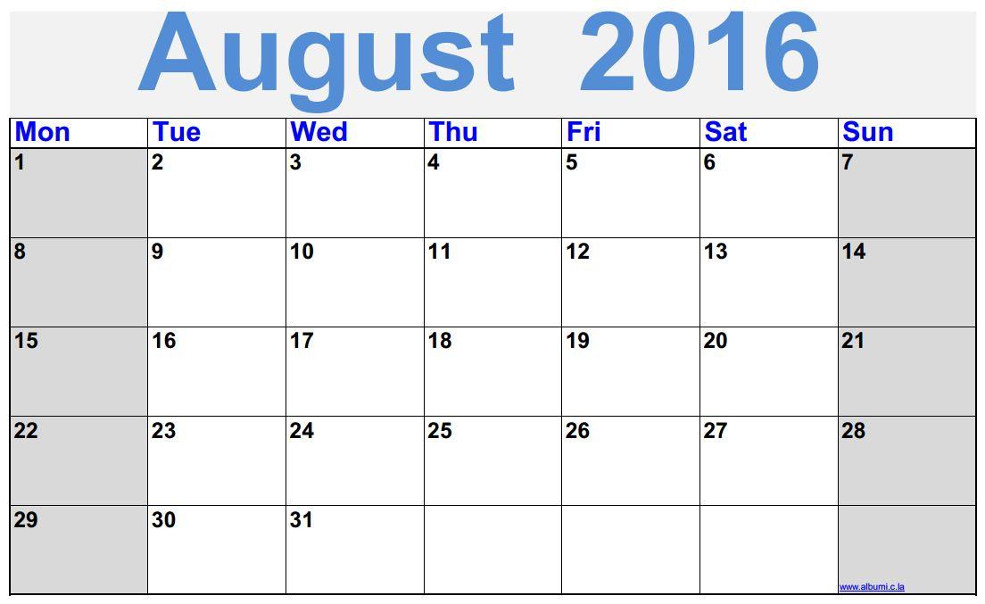 2016 blank calendar calendar en wwwalbumicla