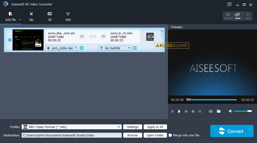 Download Aiseesoft HD Video Converter 9.2.10 Full Version