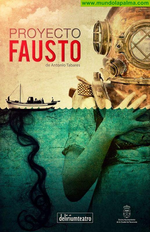 Proyecto Fausto de Antonio Tabares en el Teatro Circo de Marte