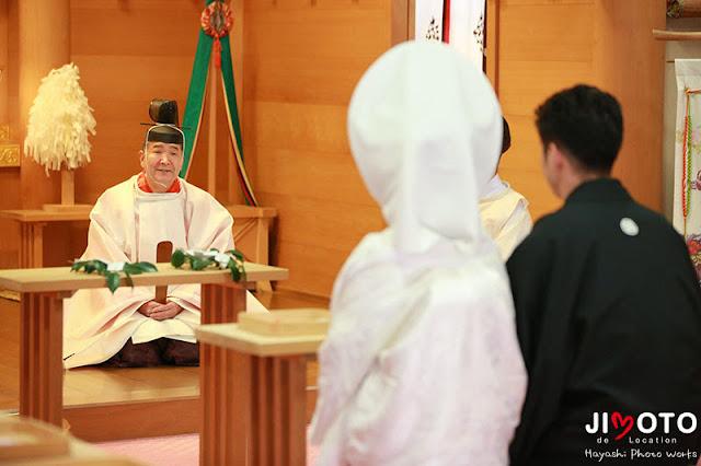 大神神社での挙式撮影