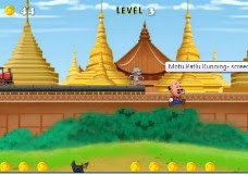 motu patlu running games