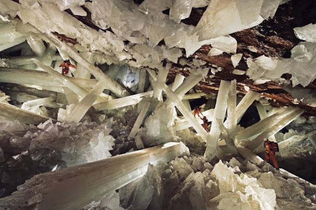 Gua Kristal Raksasa di Naica, Meksiko
