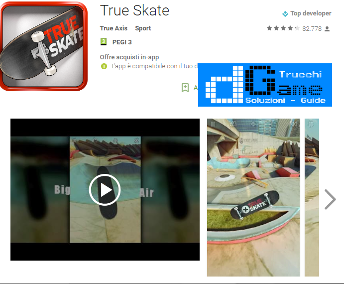 Trucchi True Skate Mod Apk Android v2.11.2