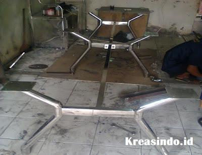 Jasa pembuatan Kaki Meja Rapat Stainless di Jabodetabek dan sekitarnya