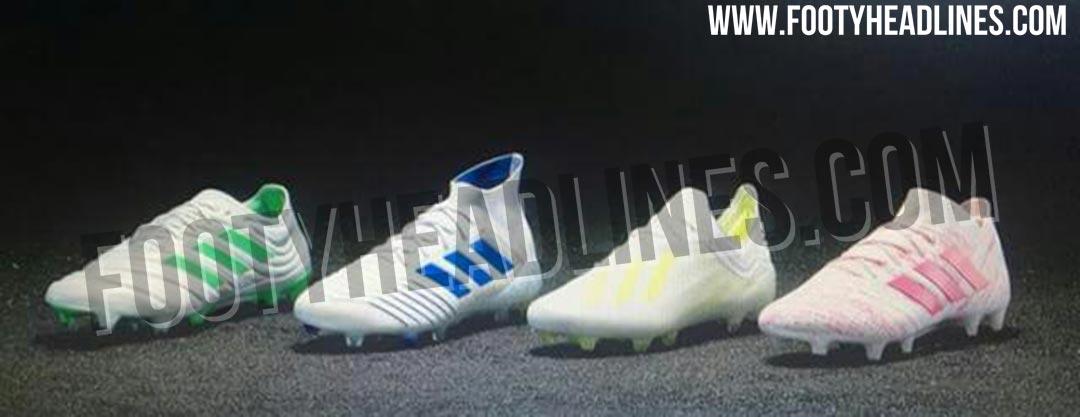 White Adidas 2019 Virtuso Pack Football Boots Leaked Footy Headlines
