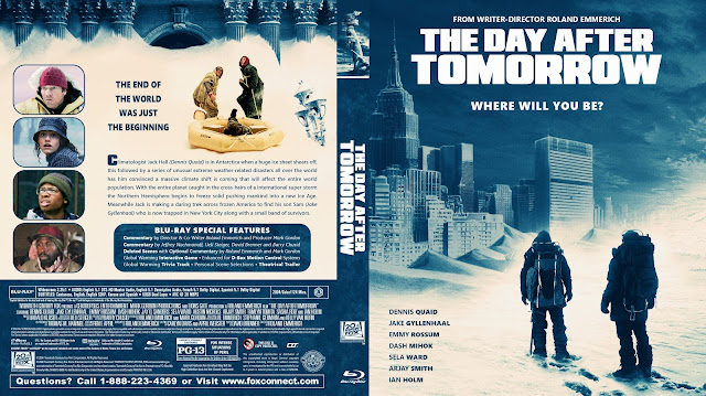 The Day After Tomorrow Bluray Cover