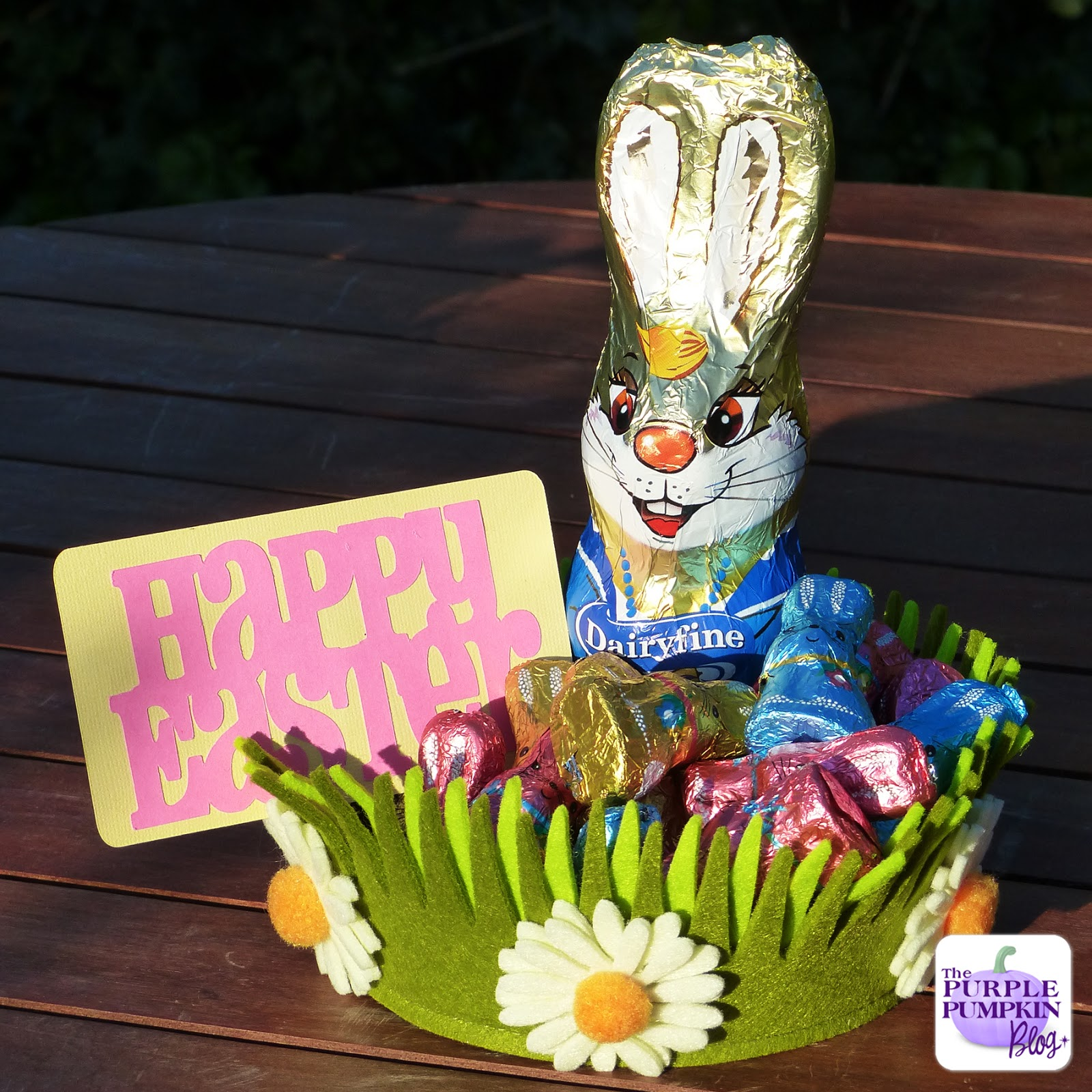 Bridal Shower Gift Basket Climbing On House Halloween: Making Easter Gifts With Chocolates From Aldi