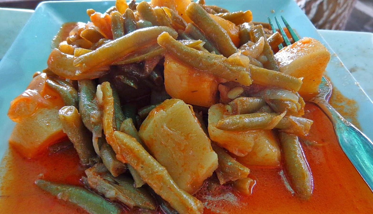 fasolakia ladera patates