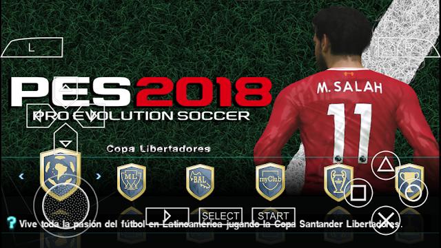 هذا أفضل تحديث للعبة PES 2018 للمحاكي [PSP]  باخر الانتقالات والاطقم اوفلاين بدون نت