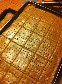 scratch made graham crackers