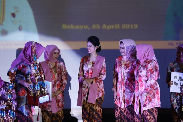Peringatan Hari Kartini ke 140 di Muba Berlangsung Meriah