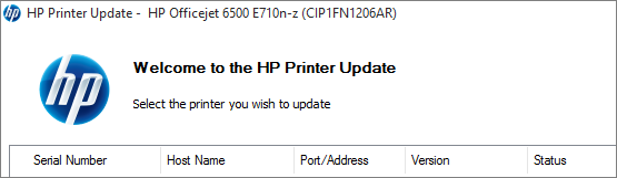 Memory Sieve: Update firmware HP OfficeJet 6500A Plus E710n