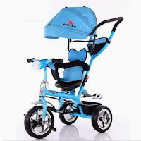 exotic et1259-1 stroller tricycle