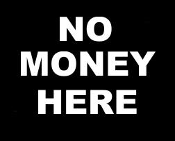 Niente denaro qui