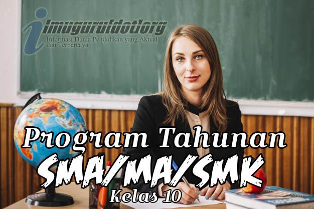Prota Matematika Peminatan Kelas 10