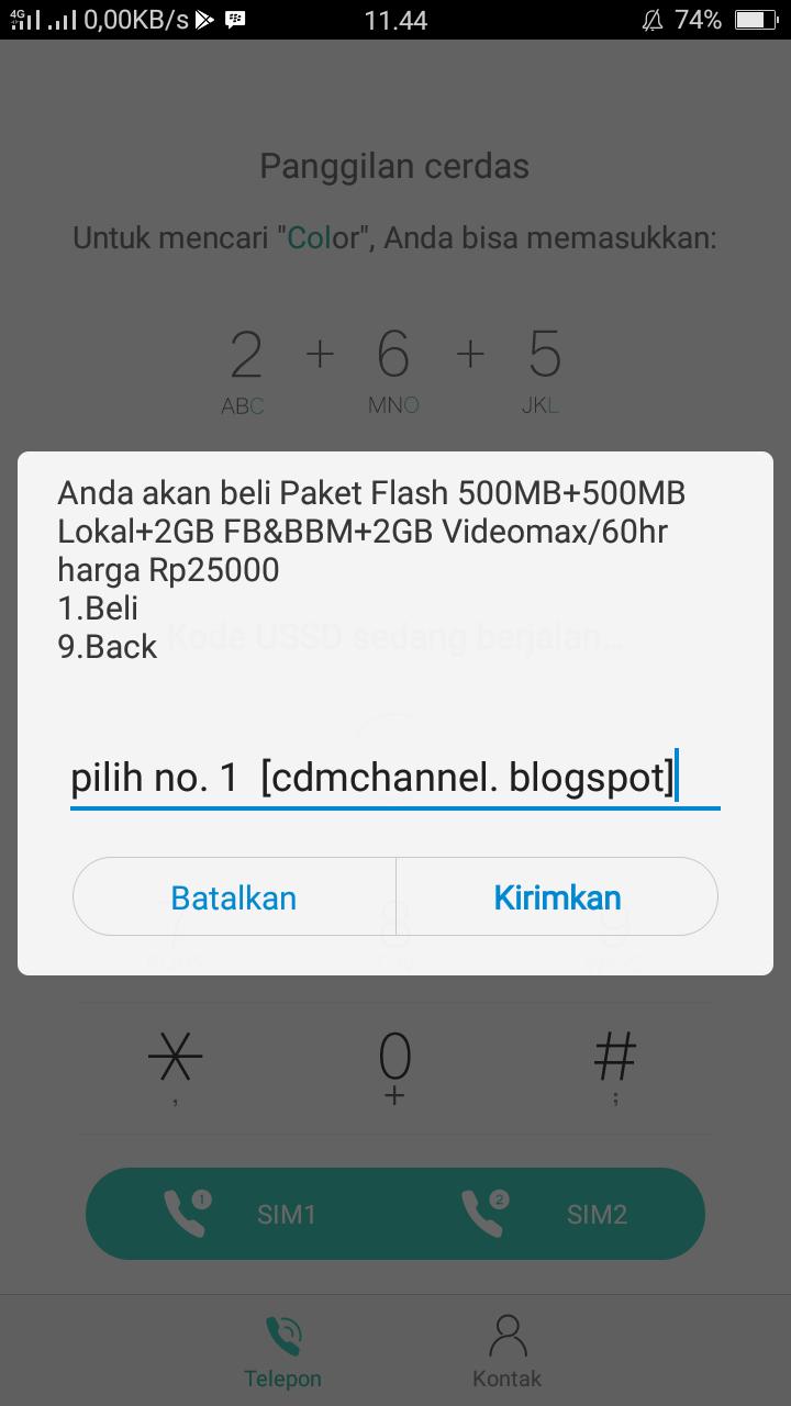 Cara Mudah Membeli Paket 5gb 25rb Di Kartu As Telkomsel Channel 2gb