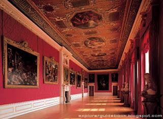bagian dalam istana Kensington Palace