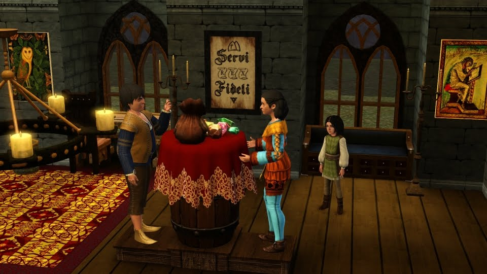 The Sims 3: Medieval Knights & The Serfs of New Praaven: Sims 3