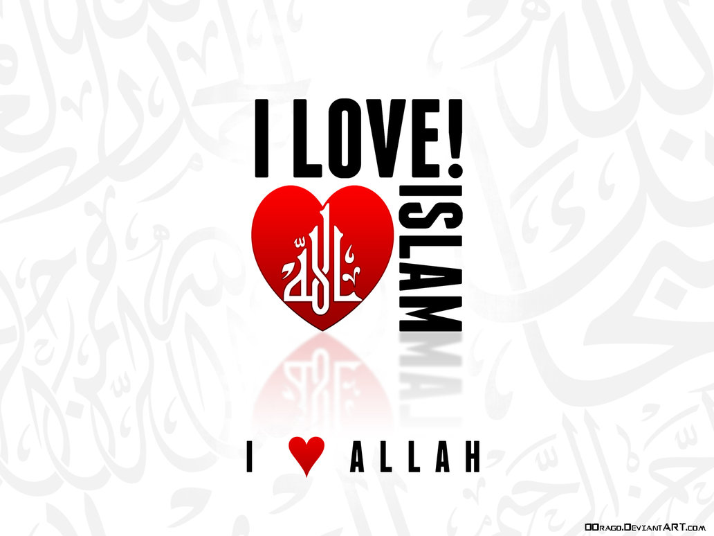 Inspirasi 83+ Tulisan I Love You Islam, Gambar Ilove You
