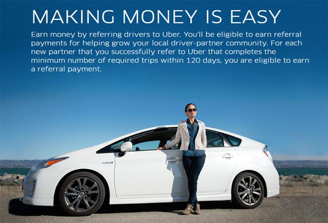 Jana Income Dengan Uber