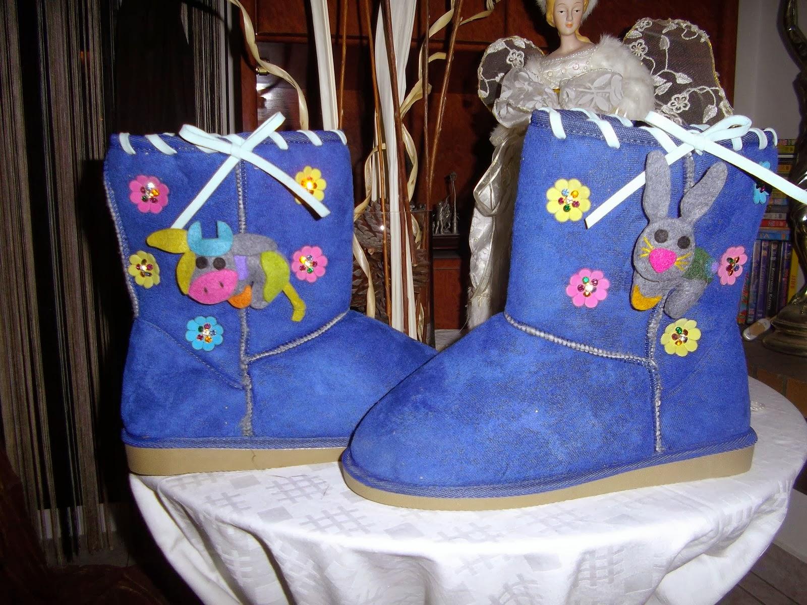 c14ccaaff2e Παιδικές μπότες τύπου Ugg, διακοσμημένες με πολύ κέφι και χαρούμενη διάθεση!