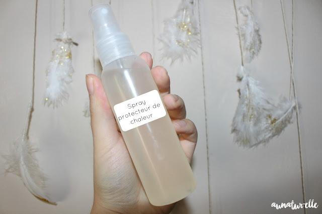 spray protecteur de chaleur bio