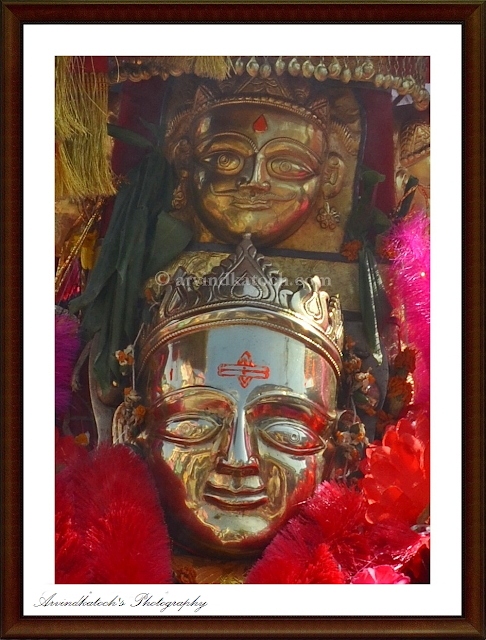 Local deity, God, Close up, Tungasi Gadh, Himachal