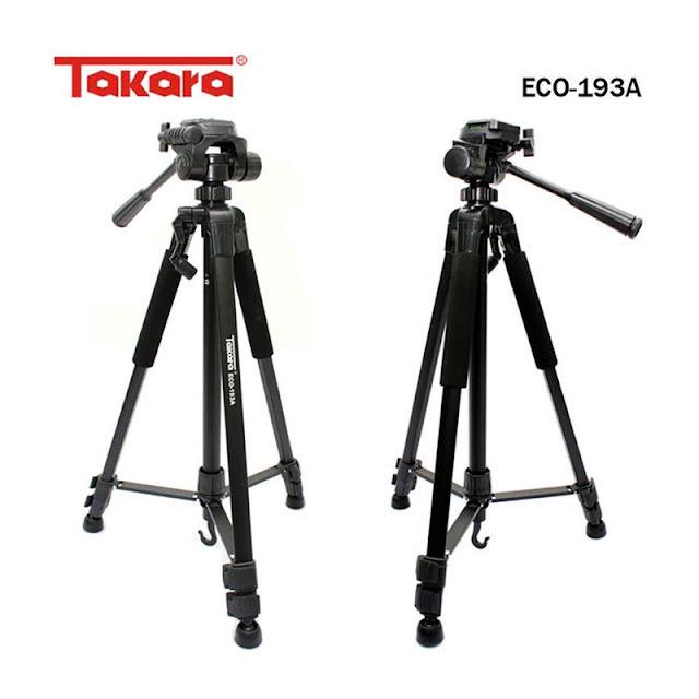 Takara Tripod for Kamera Action/ DSLR/ SLR/ Handycam