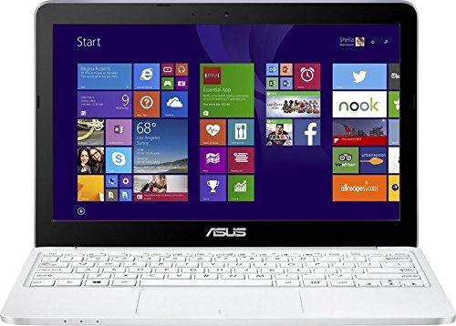 """Asus EeeBook X205TA FD005BS - Portátil de 11.6"""" (Intel atom z3735f, 2 GB de RAM, Disco eMMC 32 GB, Intel HD Graphics, Windows 8.1), negro y blanco -Teclado QWERTZ Alemán"""