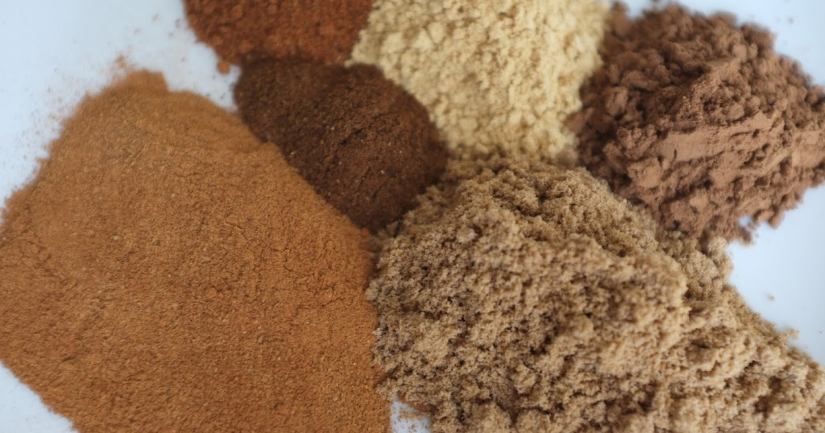 Make Your Own Mixed Spice For Cakes