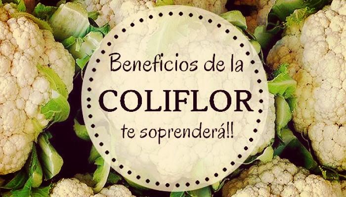 Coliflor y sus beneficios