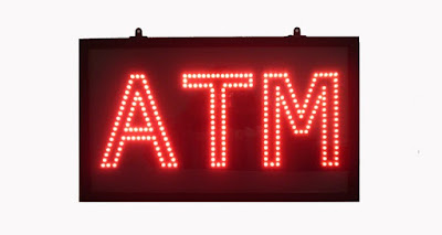 Shop the eye-catching red ATM LED sign at AffordableLED.com