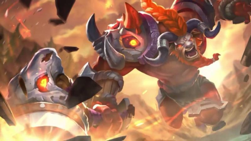 Hero Minotaur Mobile Legends - Background, Quote Plus Suara, Dan Video Gameplay