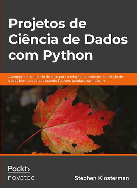 Novatec lança livro Projetos de Ciência de Dados com Python