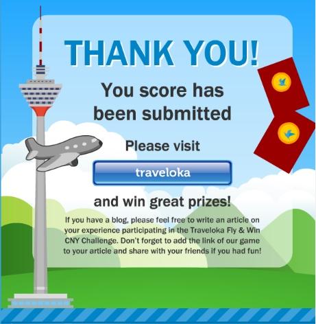 Jom Sertai Traveloka Fly & Win CNY Contest – Hadiah Percutian Percuma, Wang Tunai