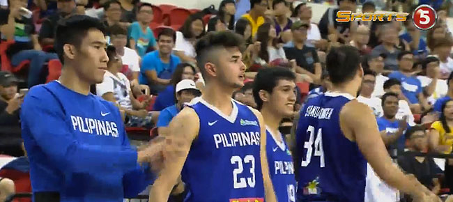 Gilas Pilipinas def. Japan, 100-85 (REPLAY VIDEO) Jones Cup 2017