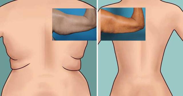 Essayez les 6 exercices les plus faciles pour les graisses du dos et sous les bras