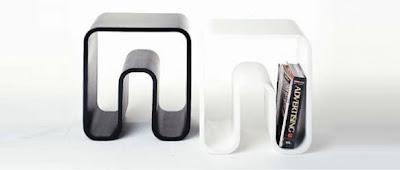 Diseño de mesa de noche.