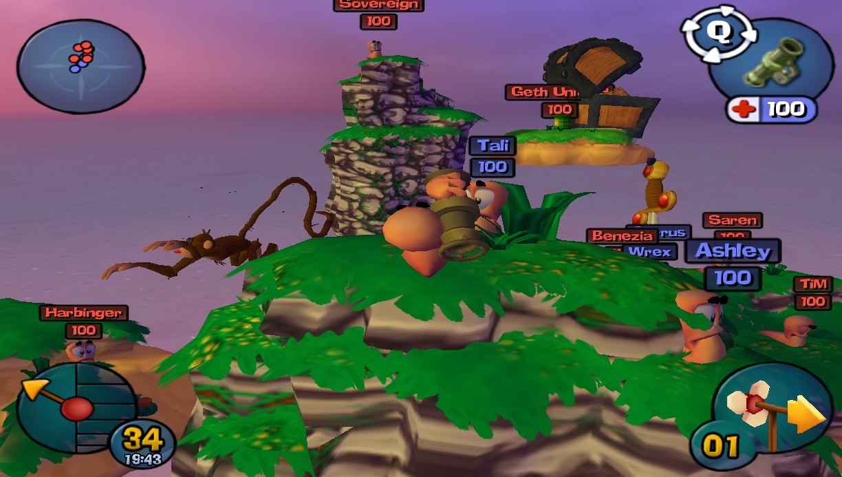 Worms 3d pc torrent.